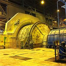 Mantenimiento de motores de anilllo de molinos SAG