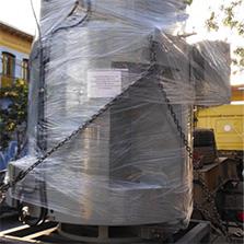 Mantenimiento de motor eléctrico de bomba vertical de media tensión
